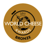 World cheese Awards Bronze